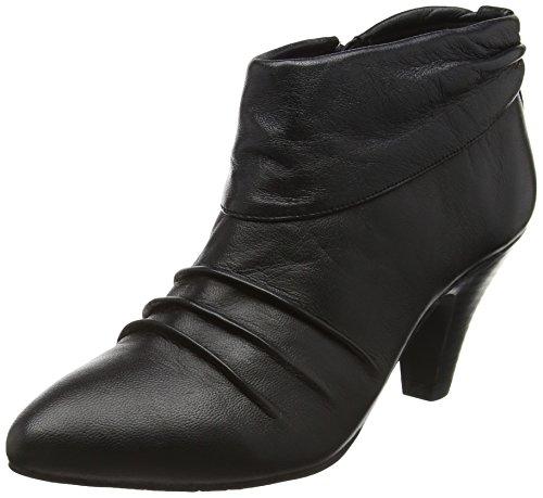 LotusHickory - Stivaletti donna , Nero (Black (Blk Leather)), 42
