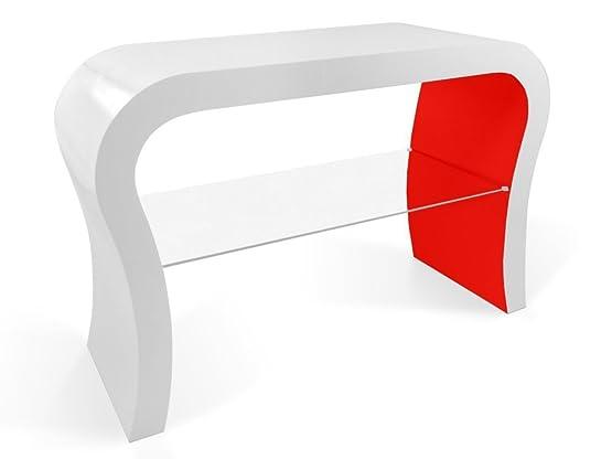 TV Design Retrò Supporto Con Ripiano in Vetro in Vari Colori
