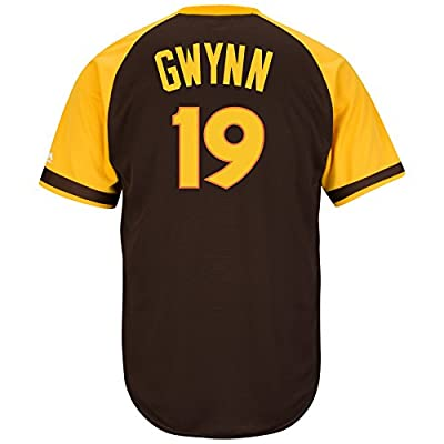 Tony Gwynn San Diego Padres 1978 Brown Replica Cool Base Jersey by Majestic