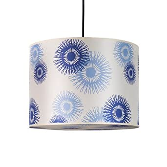 Meridian 2 Light Large Drum Pendant Shade: Charnois Paper