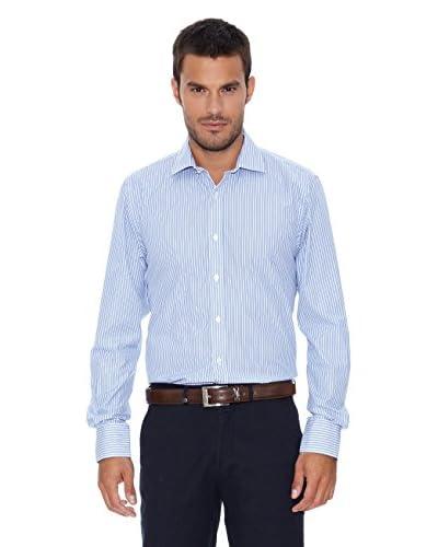 Pedro del Hierro Camicia [Bianco/Blu]