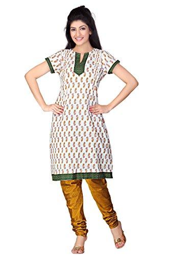 Lifestyle Lifestyle Retail Women Cotton A-Line Kurta (Multicolor)