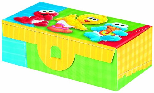 Designware Sesame Street 1st Birthday Treat Box - 6 ct - 1