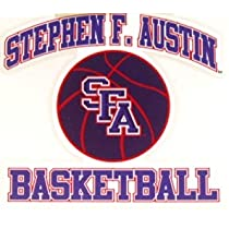 Austin State Lumberjacks Sticker Sfa Basketball