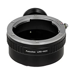 Fotodiox 10LA-LR-NEX Lens Mount Adapter Leica R Lens to Sony Alpha NEX E-Mount Camera Fits Sony