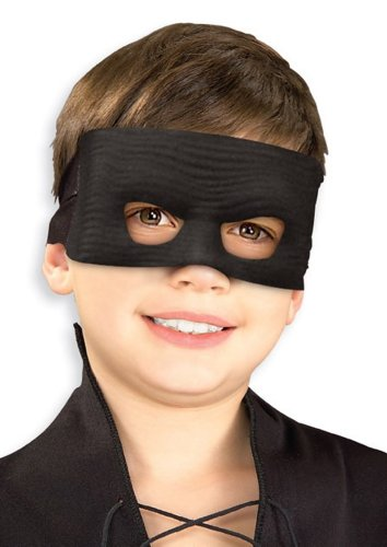 Rubie's Costume Co Zorro Eco. Mask Costume - 1