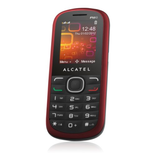 Comparer ALCATEL ONE TOUCH 308 ROUGE