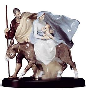 "Amazon.com: Lladro High Porcelain Retired Figurine ""Flight to Egypt"