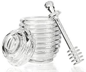 Prodyne AH-35 Acrylic Honey Jar with Server