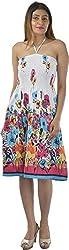 HotShot Women's Cotton Sleeveless Dress (RH022, X-Large)