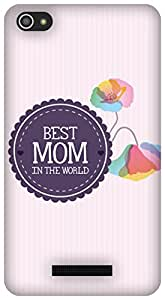 The Racoon Lean Best Mom hard plastic printed back case/cover for Micromax Canvas Hue 2 A316