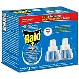 Raid - P04275741 - Recharge anti-moustiques liquide pour diffuseur électrique - 90 nuits