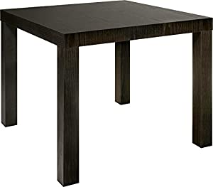 Dorel Home Products Parsons End Table, Espresso