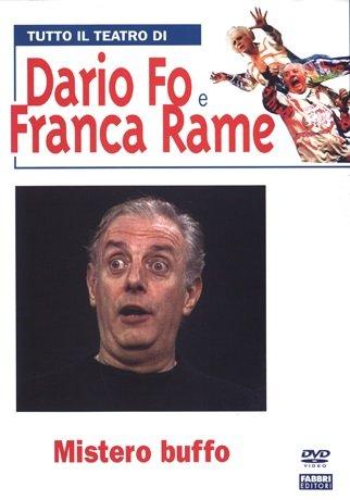 Tutto Il Teatro Di Dario Fo e Franca Rame - Mistero Buffo voll. I & II (2 DVD + Libro)