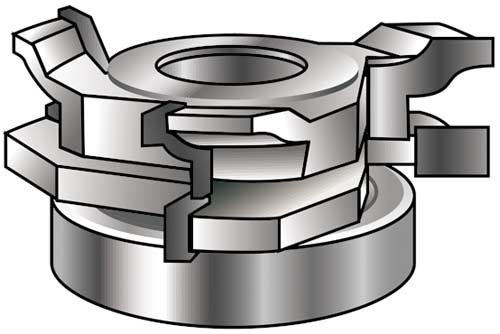 Leitz shaper cutter spindle molder cabinet door / drawer edge 1-1