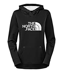 Women\'s The North Face Fave Pullover Hoodie TNF Black/TNF White Size Medium