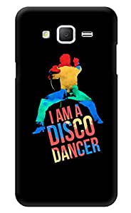 "Humor Gang I Am A Disco Dancer Printed Designer Mobile Back Cover For ""Samsung Galaxy j2"" (3D, Glossy, Premium Quality Snap On Case)"