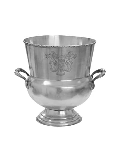 Winward Metal Urn, Silver
