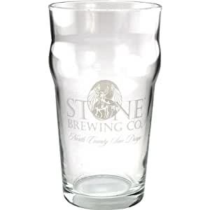 Stone Brewing Company Imperial Pint Glass