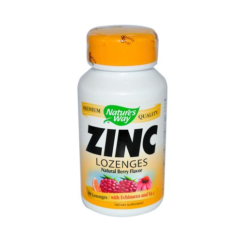 Nature'S Way Zinc Lozenges With Echand Vit C 60 Loz