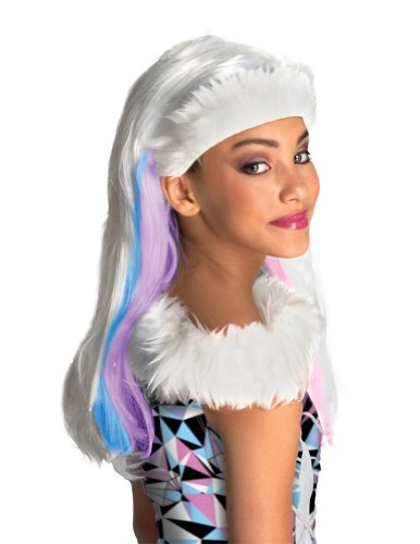Monster High Abbey Bominable Child Wig Costume Accessory