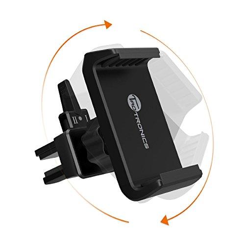 Supporto Auto Smartphone TaoTronics Porta Cellulare per Filtro Aria Car con Rilascio in un Click, Supporto Cellulare per Dispositivi Mobili larghi fino a 8 cm - iPhone 6s Plus, Galaxy, Note, Nexus, etc.