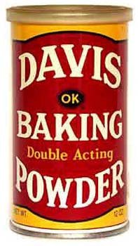 Davis Double Acting Baking Powder 8.1 oz