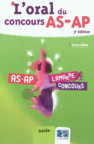 L'oral du concours AS-AP