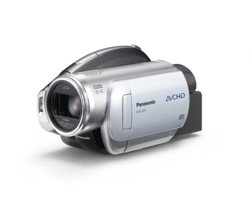 Panasonic HDC-DX1 AVCHD 3CCD High Definition DVD Camcorder with 12x Optical Image Stabilized Zoom