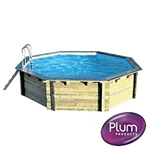 Plum Products Outdoor Wooden Swimming Pool For Adults And
