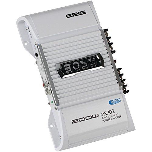 BOSS Audio MR202 Chaos Epic 200-watts Full Range Class A/B 2 Channel 2-8 Ohm Stable Amplifier