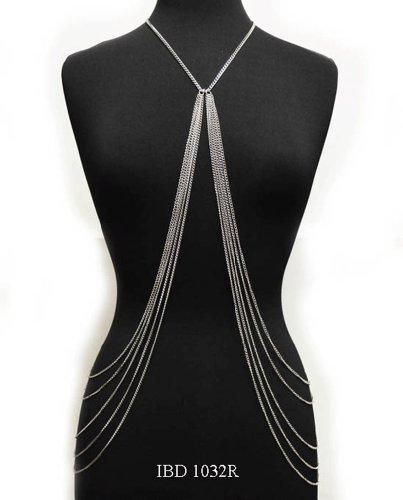 Nyfashion101 Ladies' Fabulous Silver Tone Y Strand Fashion Simple Body Chain
