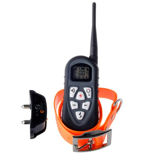 Aetertek At-219S New Version Lcd Display Remote Dog Training Collar For Puppies Small Dog To Large Dog 18 Level Adjust Correction Auto Anti-Bark