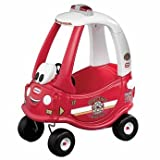 Distinctive Little Tikes Cozy Fire Engine - Cleva Edition 3DAlarmD Bundle