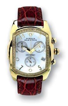AQUA MASTER 0113MW3COG5 - Reloj para mujeres color blanco