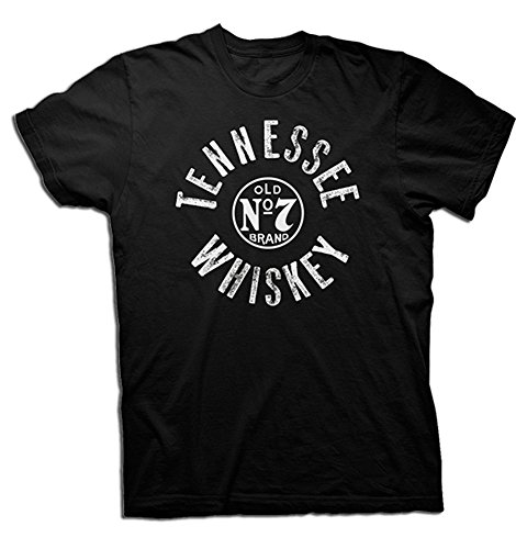 Jack Daniels Men's Daniel's Tennesee Whiskey Short Sleeve T-Shirt Black X-Large (Jack Daniels Whiskey Shirt compare prices)