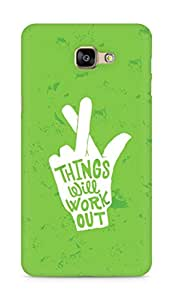 AMEZ things will work out Back Cover For Samsung Galaxy A9
