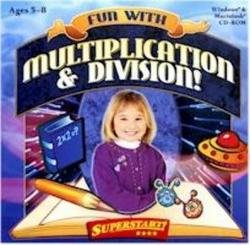 Fun with Multiplication & Division, Ages 5-8 (Superstart series)