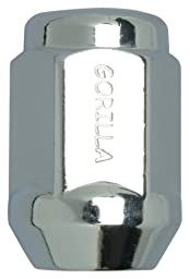Gorilla Automotive 61147 Acorn Bulge Seat Lifetime Lug Nuts (14mm x 1.50 Thread Size)
