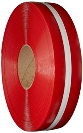 Mighty Line Nonabrasive Floor Marking Tape with White Center