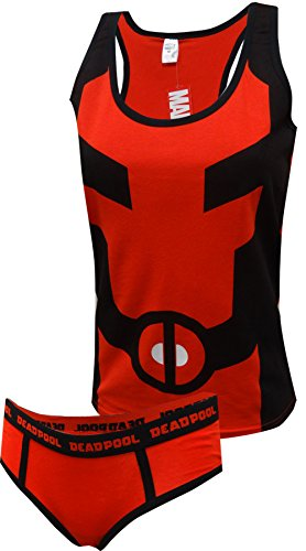 Deadpool Tank & Hipster Panty Set