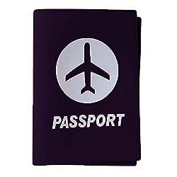 Silicon Passport Covers (Black)
