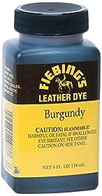 Fiebing's Leather Dye, Burgundy, 4 oz.