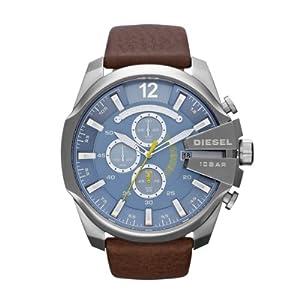 Diesel - DZ4281 - Montre Homme - Quartz Chronographe - Chronomètre/ Aiguilles lumineuses - Bracelet Cuir Marron par Diesel