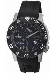 Edox Men's 77001 TIN NIBU Class-1 Automatic Rotating Bezel Watch