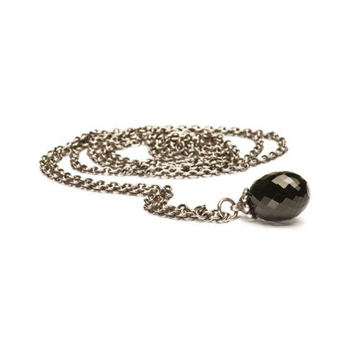 Trollbeads Fantasy Necklace with Black Onyx - 120cm