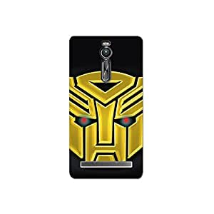 Design for Asus Zenfone 2 nkt05 (46) Case by Mott2 -Transformer - Golden (Limited Time Offers,Please Check the Details Below)