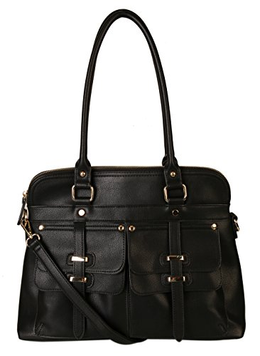 rimen-co-double-front-pockets-two-top-handle-zipper-closure-casual-hobo-satchel-tote-women-handbag-p
