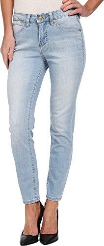 Jag Jeans Women's Evan Slim Ankle Jean, Hazey Blue, 16