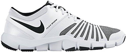 Nike flex show tr 5 - Scarpe da trekking, Uomo, colore Bianco (white/black-stealth), taglia 44